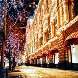 Обзорная экскурсия по ночной Москве